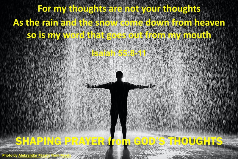 Pray in the Rain Agree with God